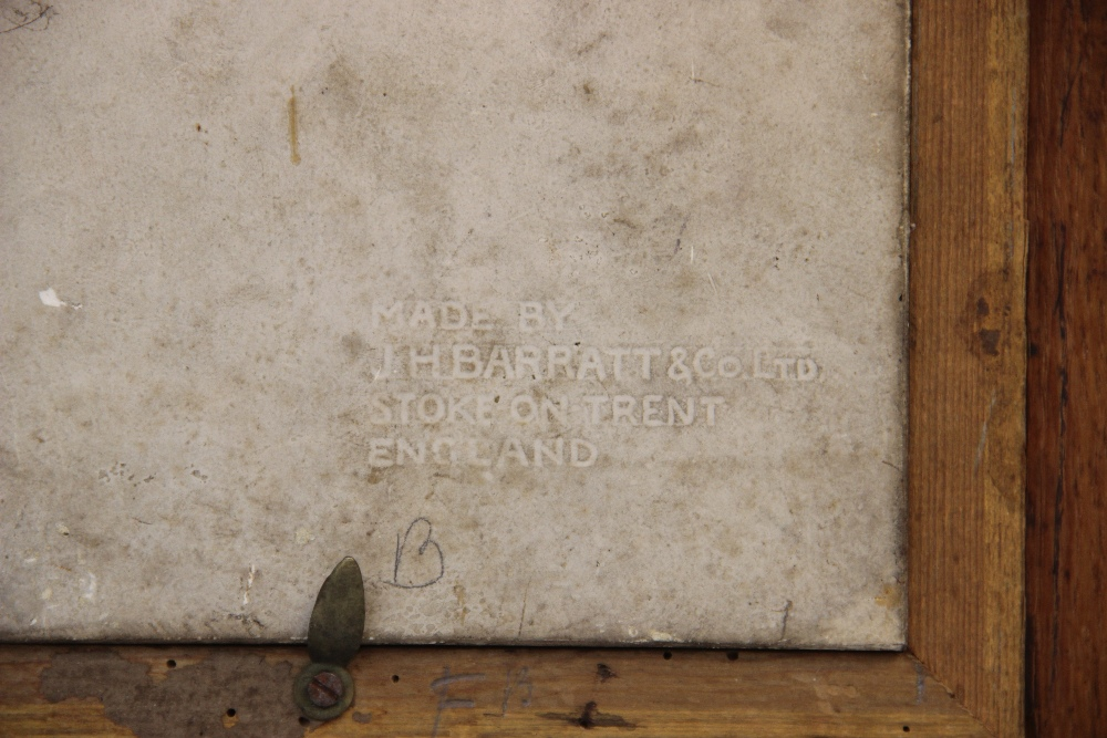 WORLD WAR I INTEREST: A J.H Barratt & Co Ltd portrait tile depicting Field Marshall Sir Douglas - Image 4 of 4