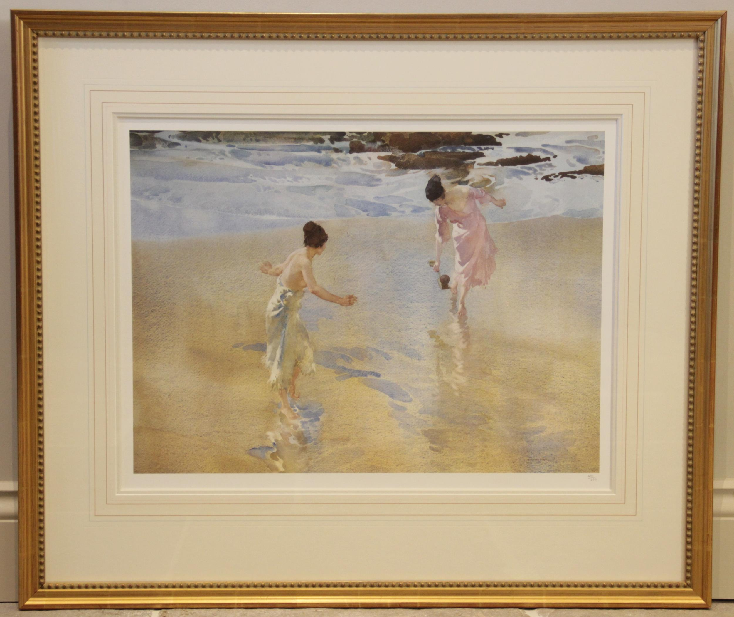 After Sir William Russell Flint R.A. (Scottish, 1880-1969), Three limited edition prints on - Image 4 of 11