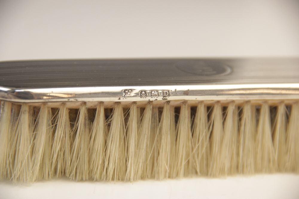 An Edwardian cased fish knife and fork by R F Mosley & Co, Sheffield 1905, each with pierced - Image 3 of 5