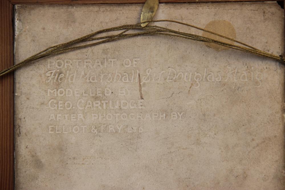 WORLD WAR I INTEREST: A J.H Barratt & Co Ltd portrait tile depicting Field Marshall Sir Douglas - Image 3 of 4
