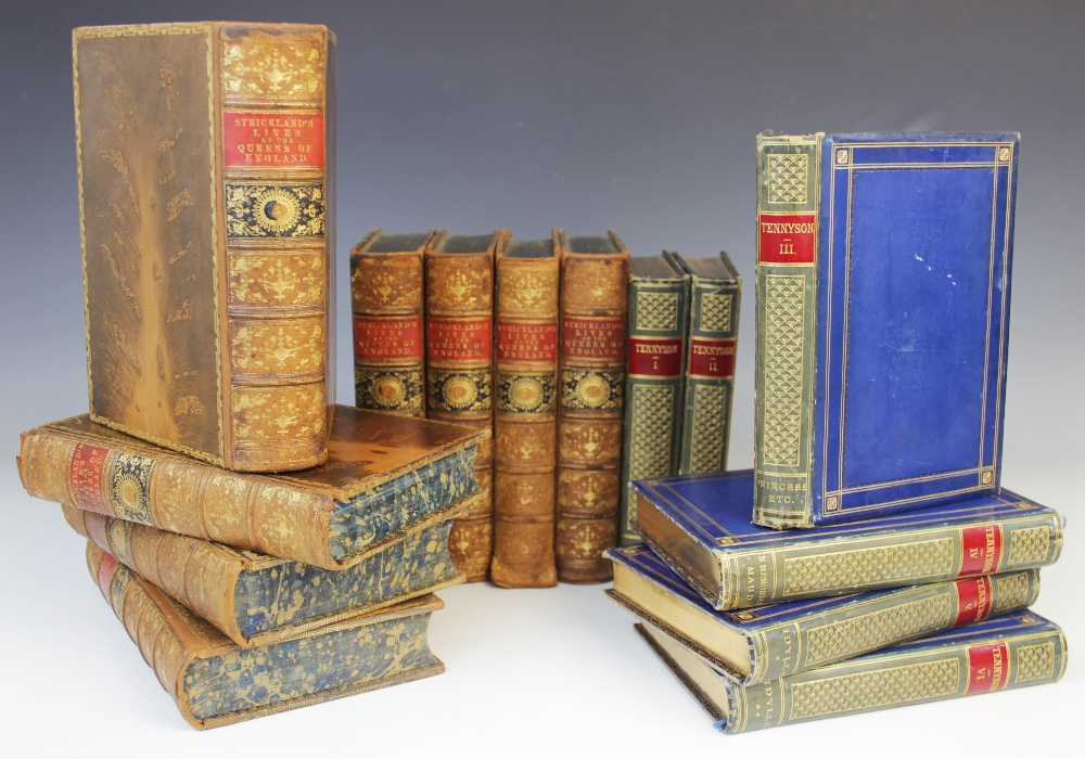 DECORATIVE BINDINGS: Strickland (A), LIVES OF THE QUEENS OF ENGLAND, FROM THE NORMAN CONQUEST, 8 - Image 14 of 14