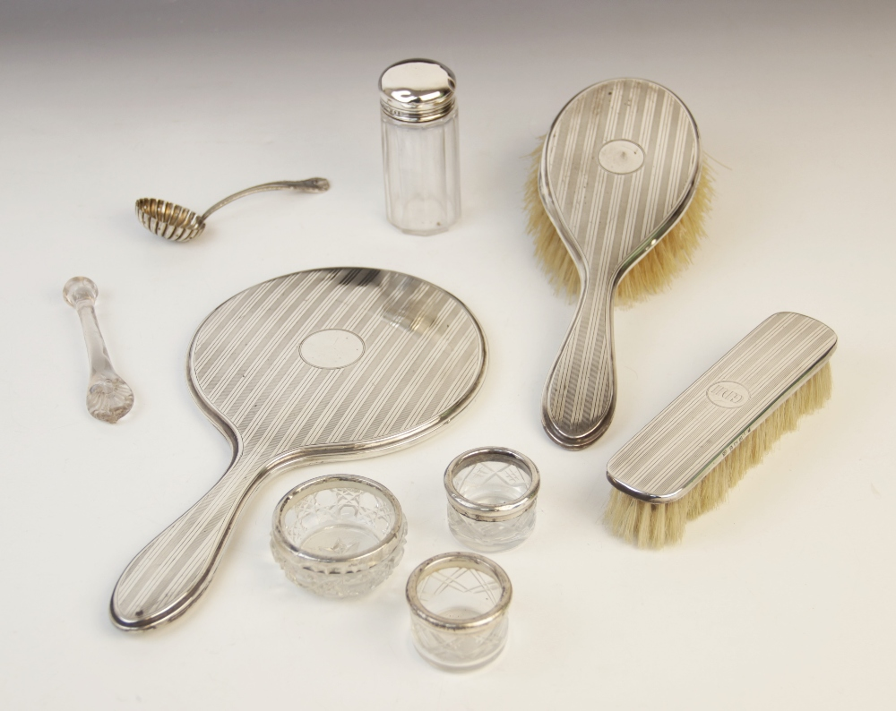 An Edwardian cased fish knife and fork by R F Mosley & Co, Sheffield 1905, each with pierced