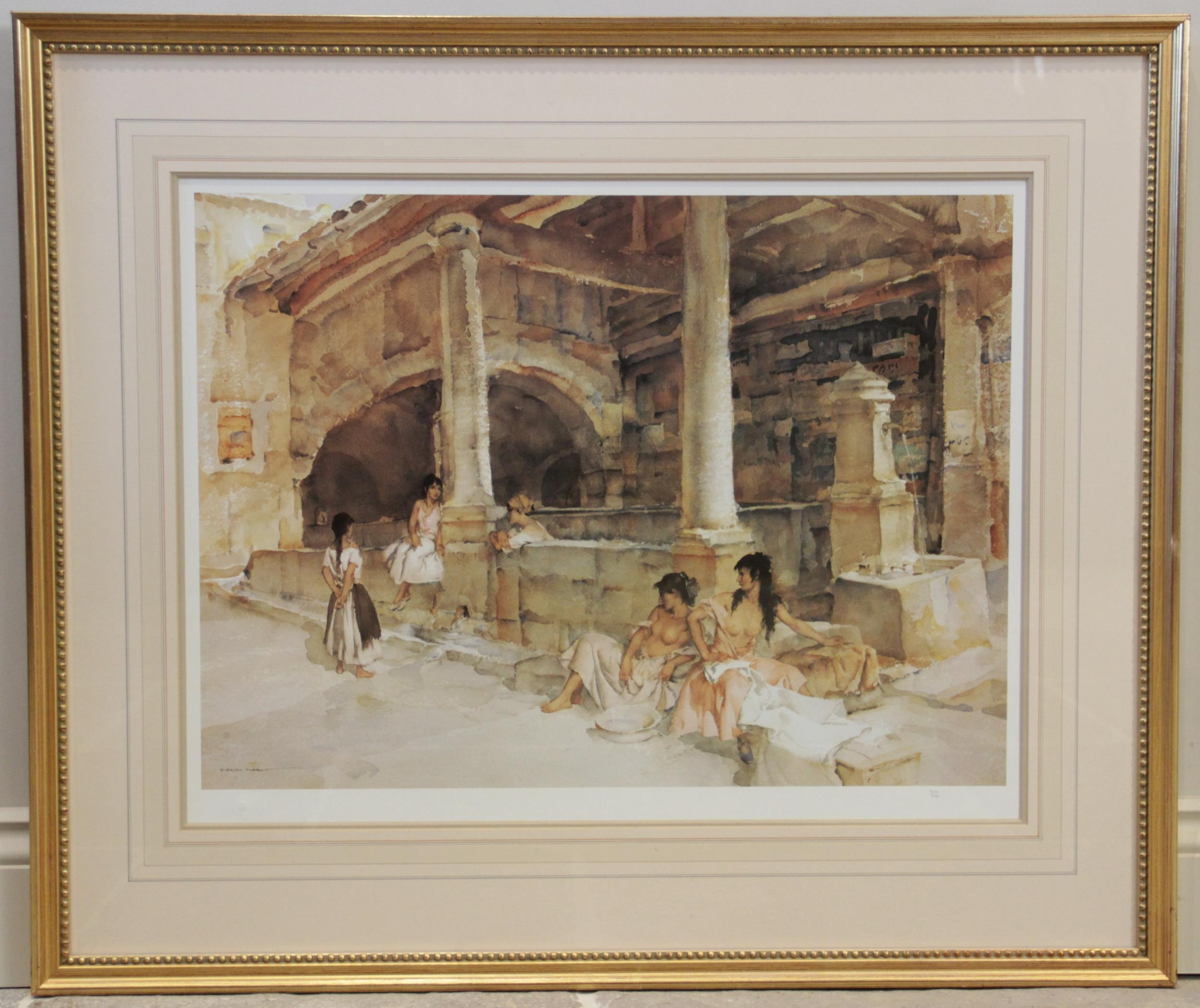 After Sir William Russell Flint R.A. (Scottish, 1880-1969), Three limited edition prints on - Image 9 of 11