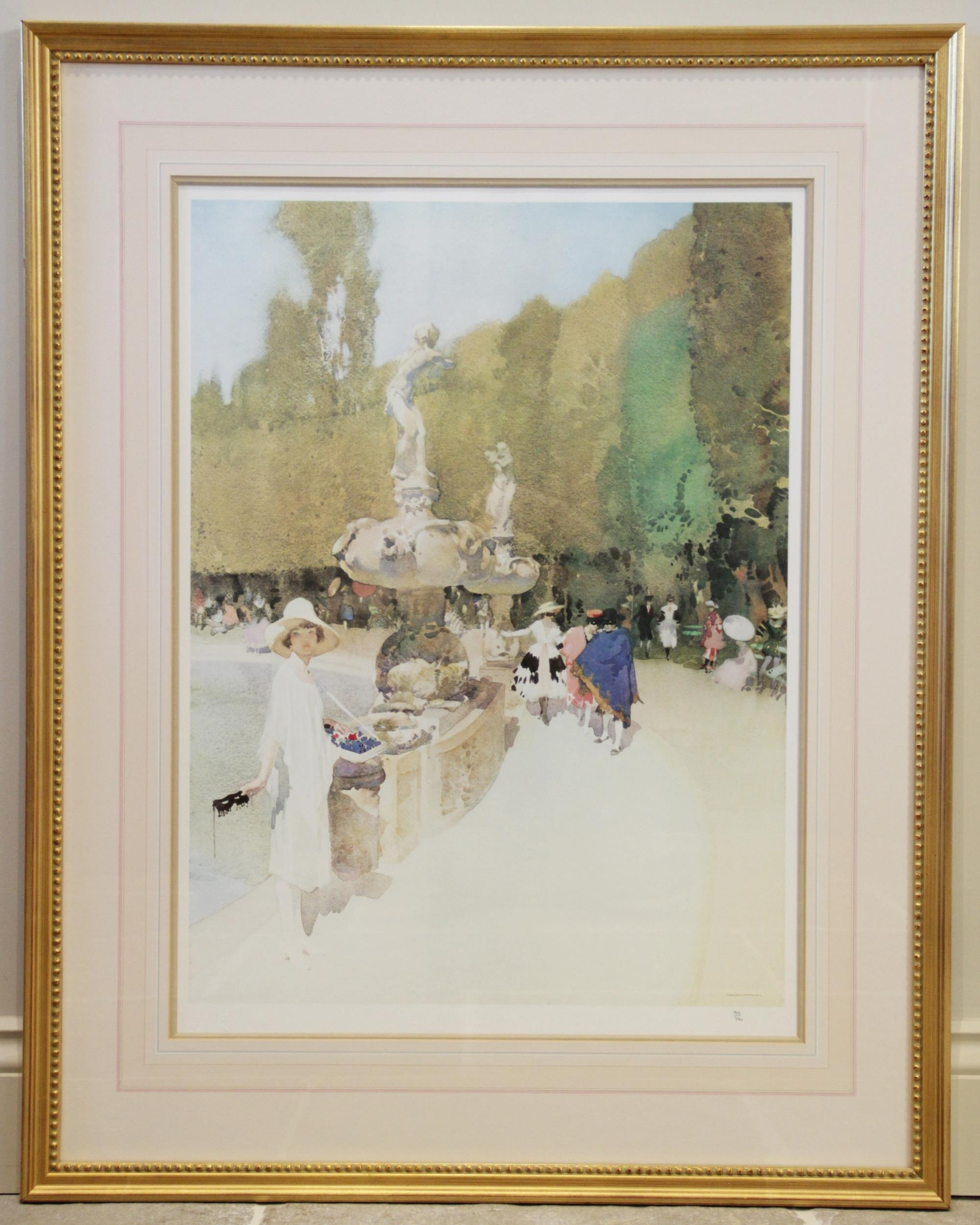 After Sir William Russell Flint R.A. (Scottish, 1880-1969), Three limited edition prints on - Image 6 of 11