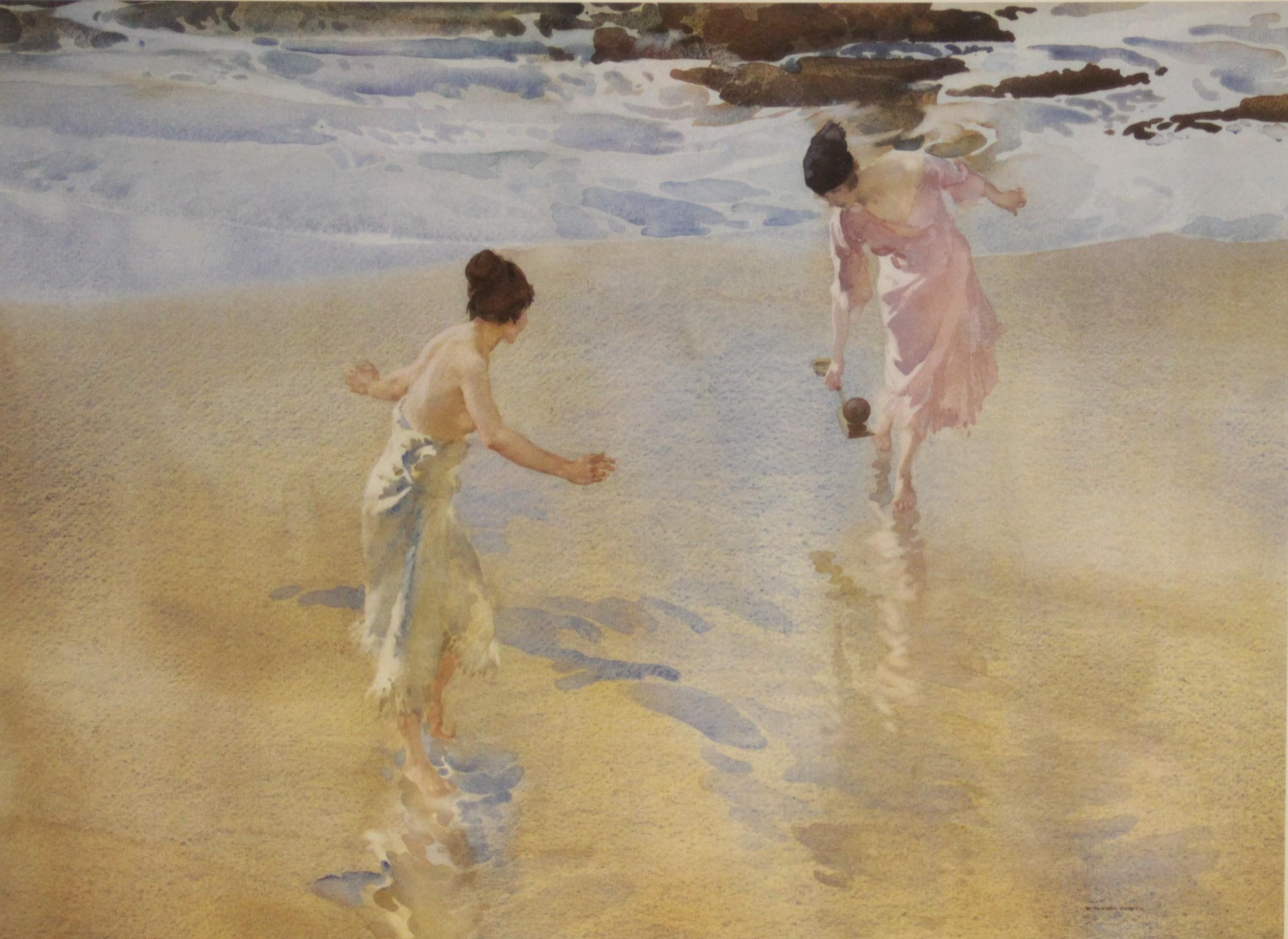 After Sir William Russell Flint R.A. (Scottish, 1880-1969), Three limited edition prints on