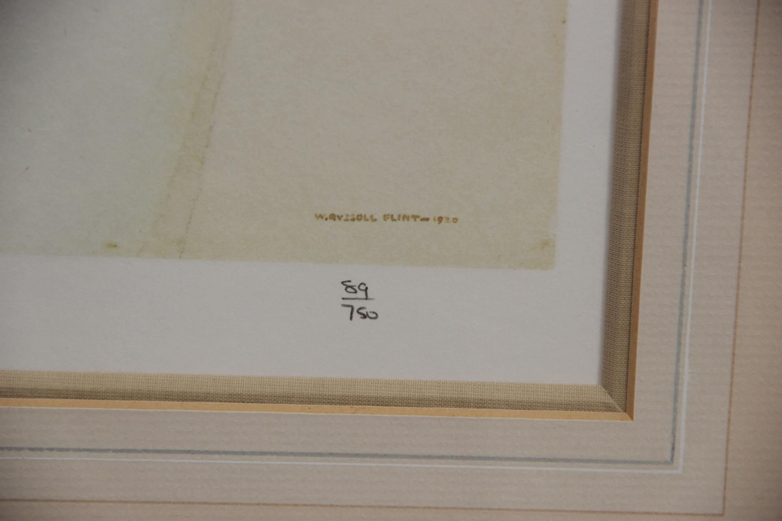 After Sir William Russell Flint R.A. (Scottish, 1880-1969), Three limited edition prints on - Image 7 of 11