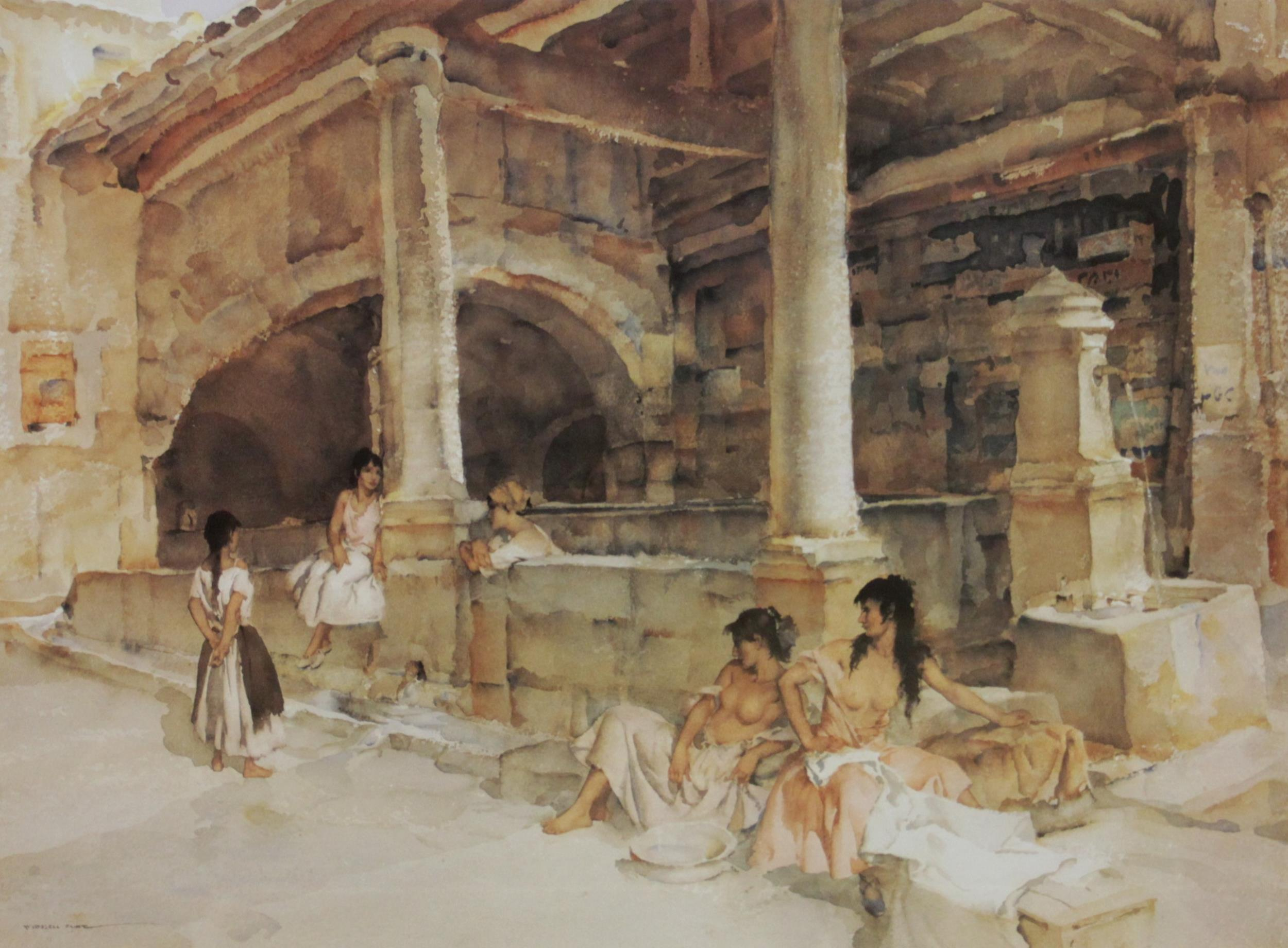 After Sir William Russell Flint R.A. (Scottish, 1880-1969), Three limited edition prints on - Image 3 of 11