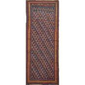 TAPPETO QARABAG trama, ordito e vello in lana. Armenia prima metà XX secolo - cm 284 x 120