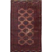 TAPPETO KASHMIR BOKARA trama ed ordito in cotone, vello in lana. Pakistan XX secolo - cm 190 x 124