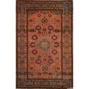 TAPPETO DAGHESTAN trama ed ordito in cotone, vello in lana. Turchia prima metà XX secolo - cm 240 x
