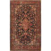 TAPPETO NAVAND trama ed ordito in cotone, vello in lana. Persia XX secolo - cm 288 x 163