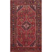 TAPPETO HOSSENABAD, trama ed ordito in cotone, vello in lana. Persia XX secolo - cm 224 x 142