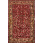 TAPPETO MAHAL trama ed ordito in cotone, vello in lana. Persia XX secolo - cm 314 x 205
