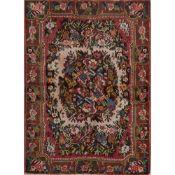 TAPPETO BAKTIARY FARADONBEH trama ed ordito in cotone, vello in lana. Persia XX secolo - cm 149 x
