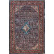 TAPPETO ARDEBIL trama ed ordito in cotone, vello in lana. Persia XX secolo - cm 210 x 144