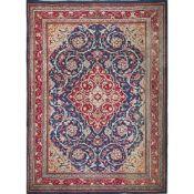 TAPPETO SAROUQ trama ed ordito in cotone, vello in lana. Persia XX secolo - cm 140 x 107