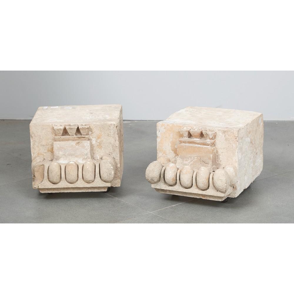 COPPIA MENSOLE in pietra ragusana