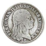 NAPOLI - FERDINANDO IV - 1796 Piastra