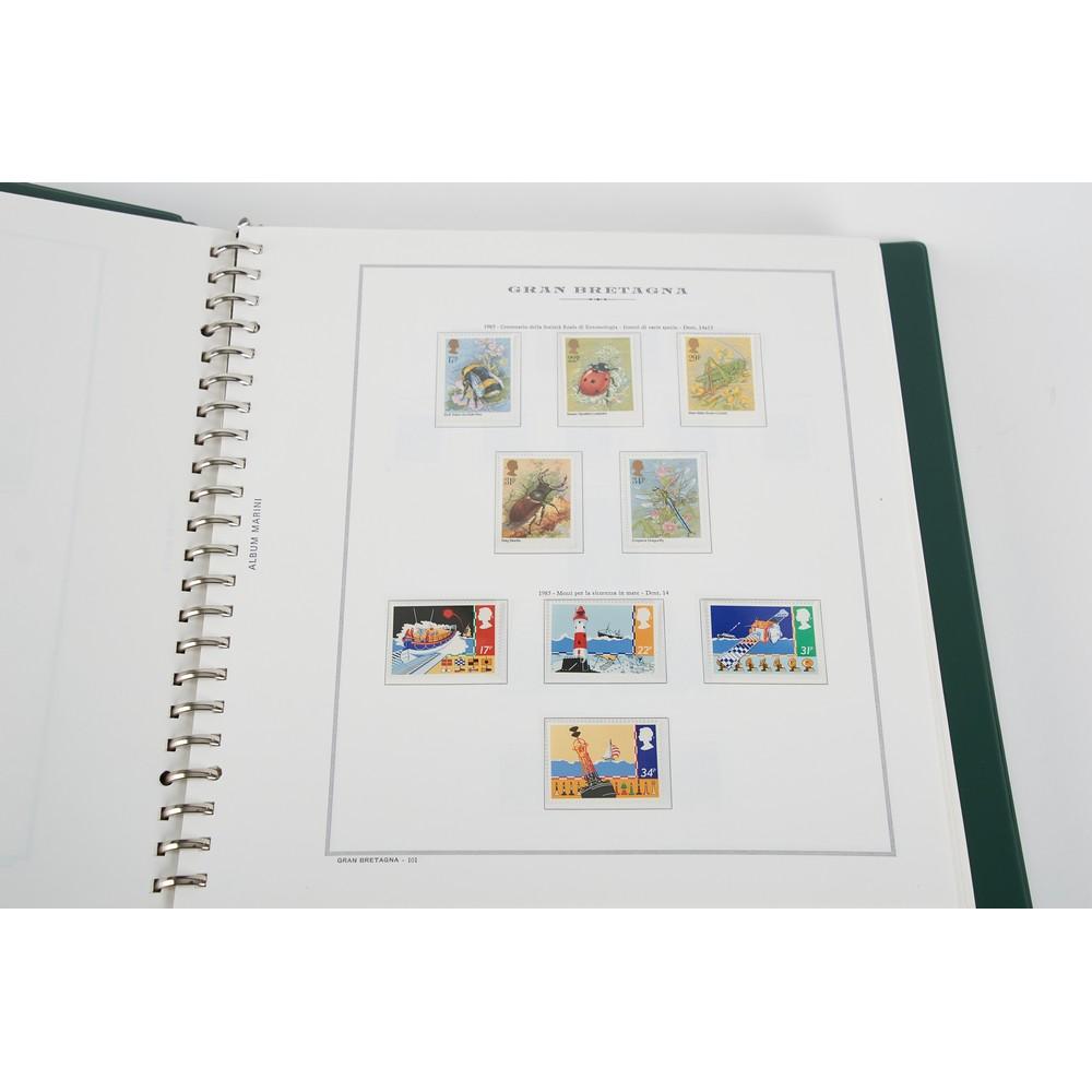 GRAN BRETAGNA 1984/97 Collezione di francobolli - Image 2 of 2