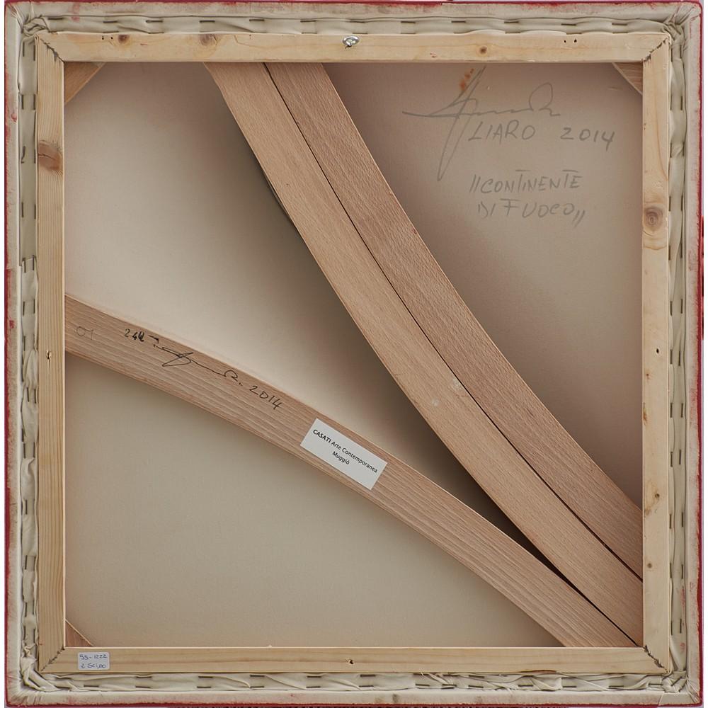 GIUSEPPE AMADIO Dipinto su tela estroflessa - Image 2 of 2
