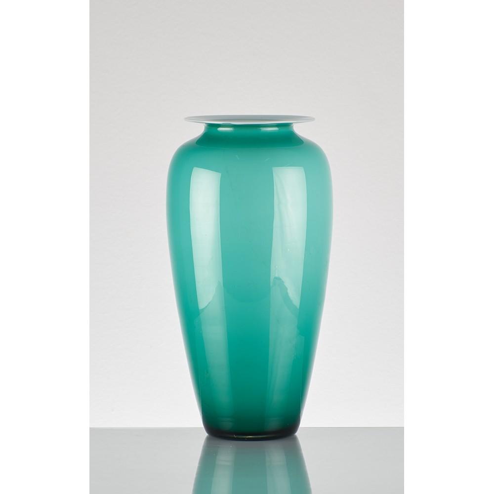 MAESTRI MURANESI Vaso in vetro incamiciato