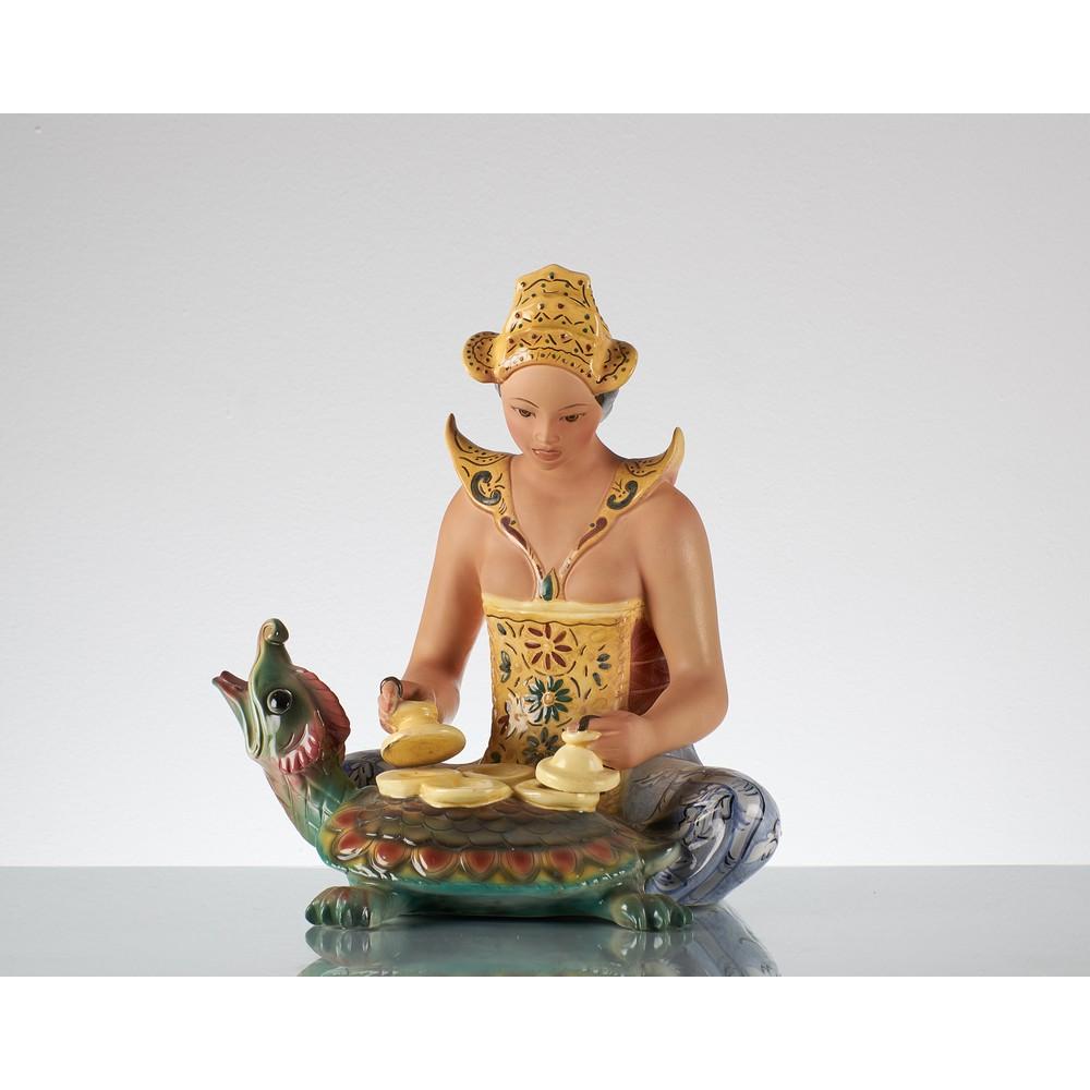 BERTETTI Kantilan Statua in ceramica