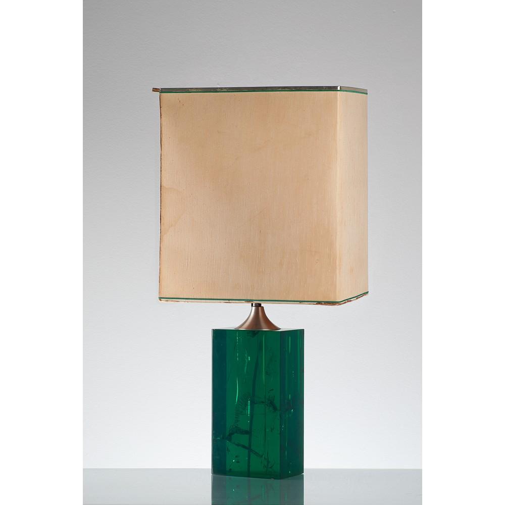 PRODUZIONE ITALIANA ANNI '80 Lampada da tavolo
