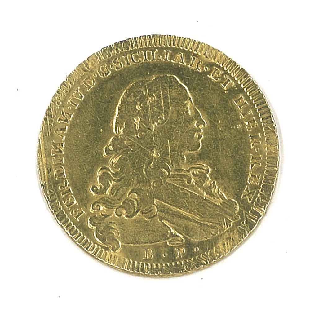 NAPOLI - FERDINANDO IV - 1777 6 Ducati oro