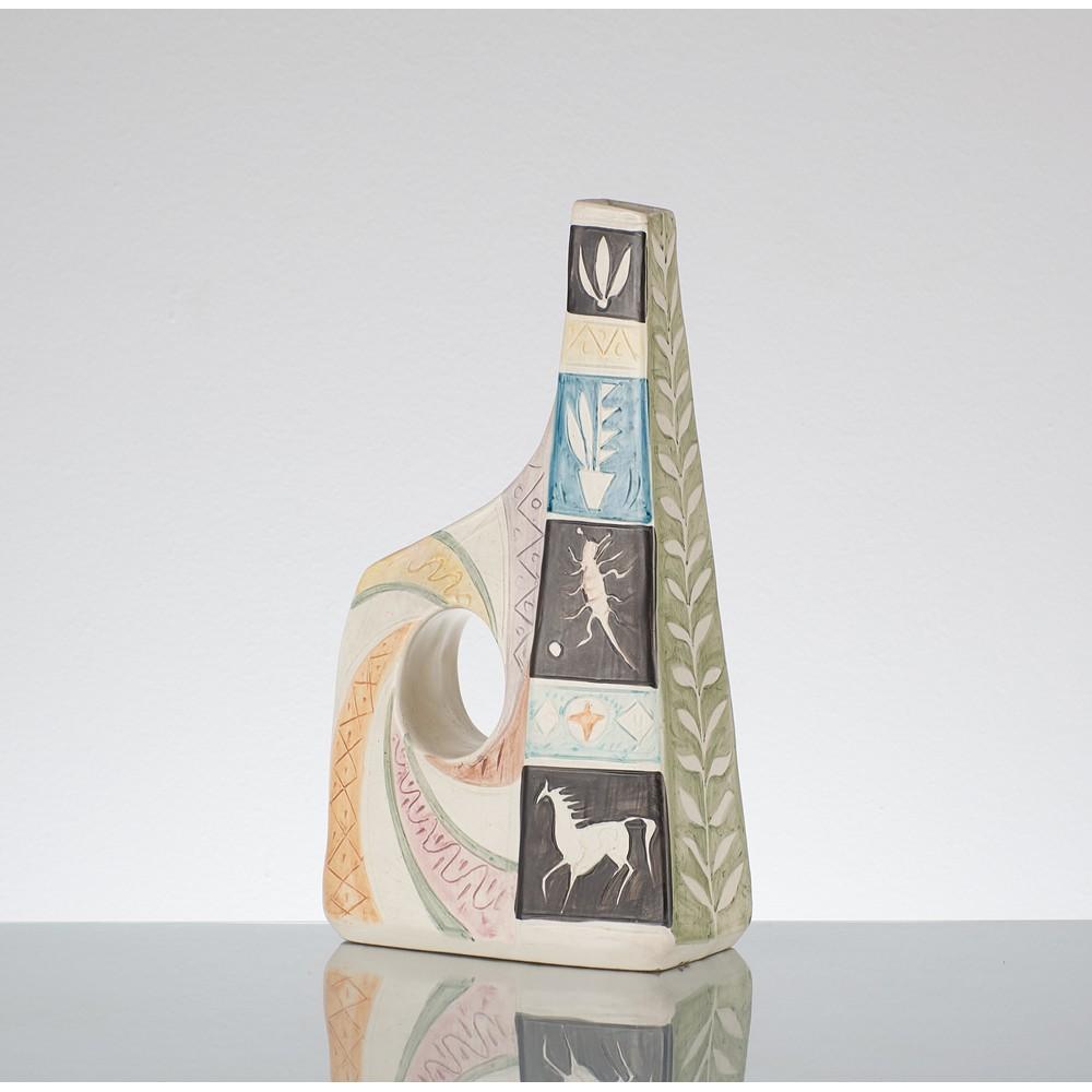 LUIGI CARRON - ALCYONE Vaso in ceramica