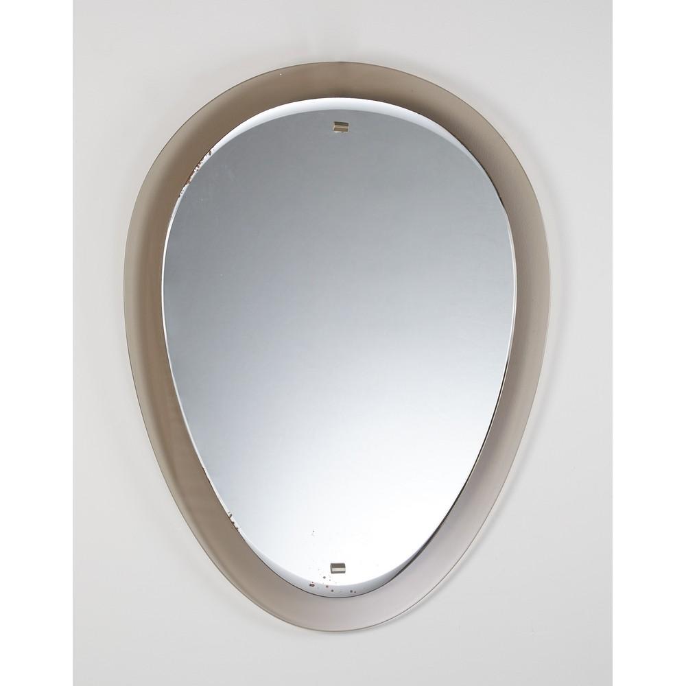 VECA (Attr.le) Grande specchio di forma ovoidale