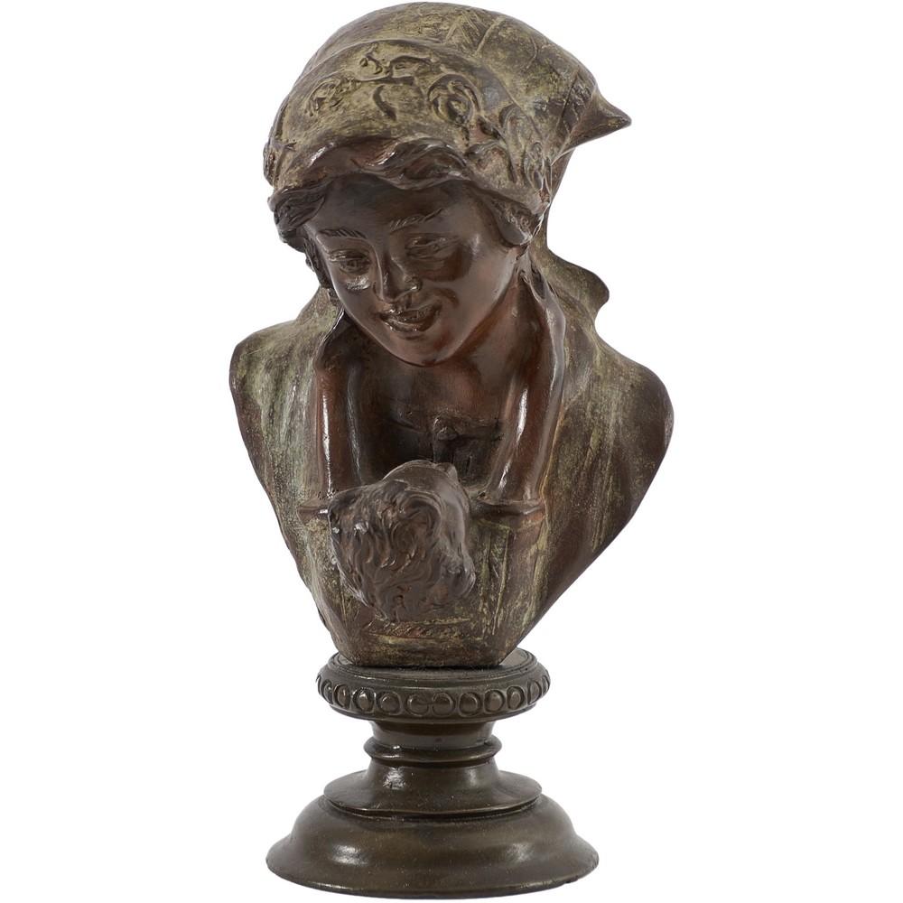 GIOVANNI DE MARTINO Scultura in bronzo