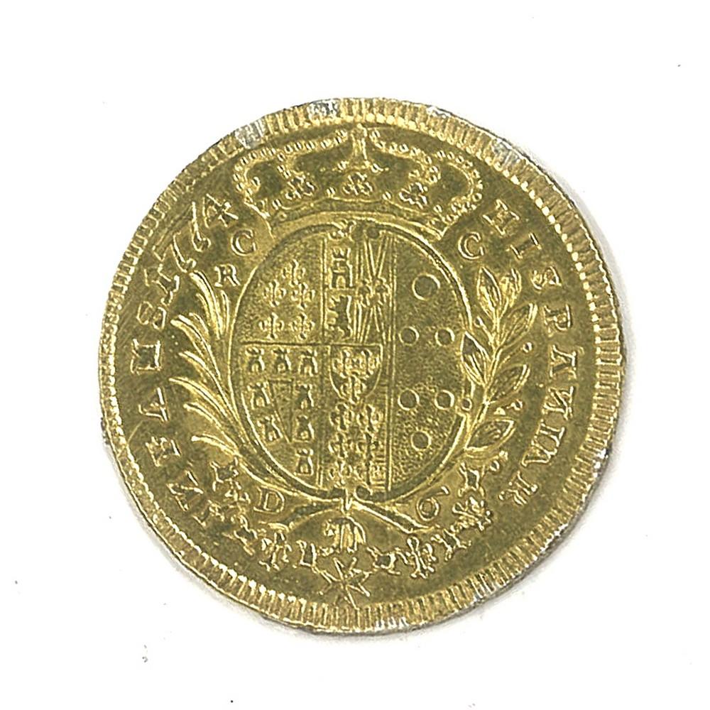 NAPOLI - FERDINANDO IV - 1777 6 Ducati oro - Image 2 of 2