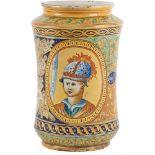 CERAMICA FAENZA Grande cilindro in ceramica