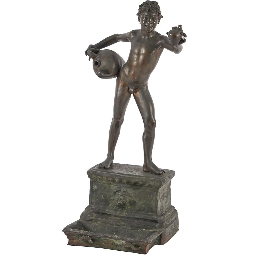 VINCENZO GEMITO (Attr.le) Scultura in bronzo