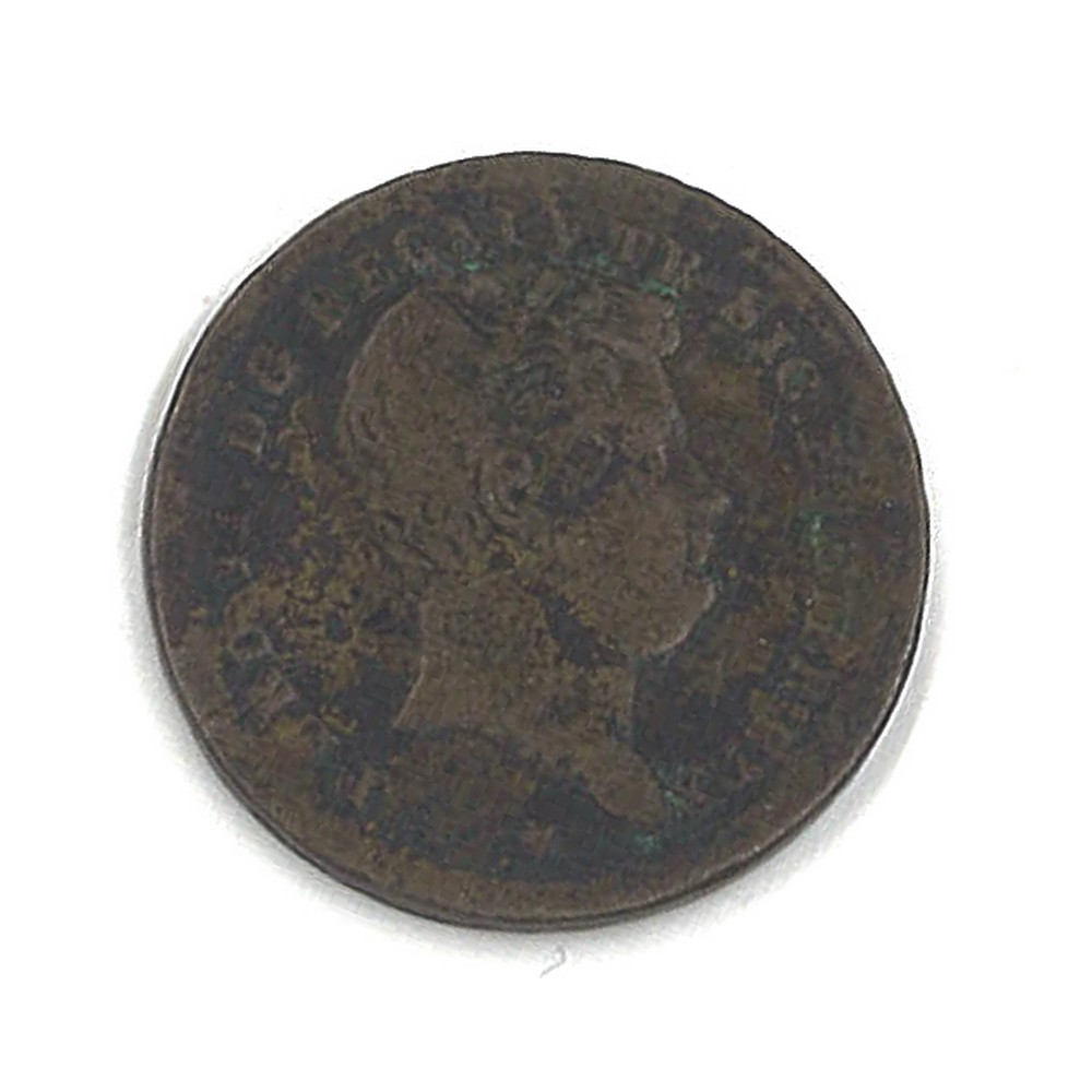 REGNO DUE SICILIE - FERDINANDO II - 1845 Tornese rame