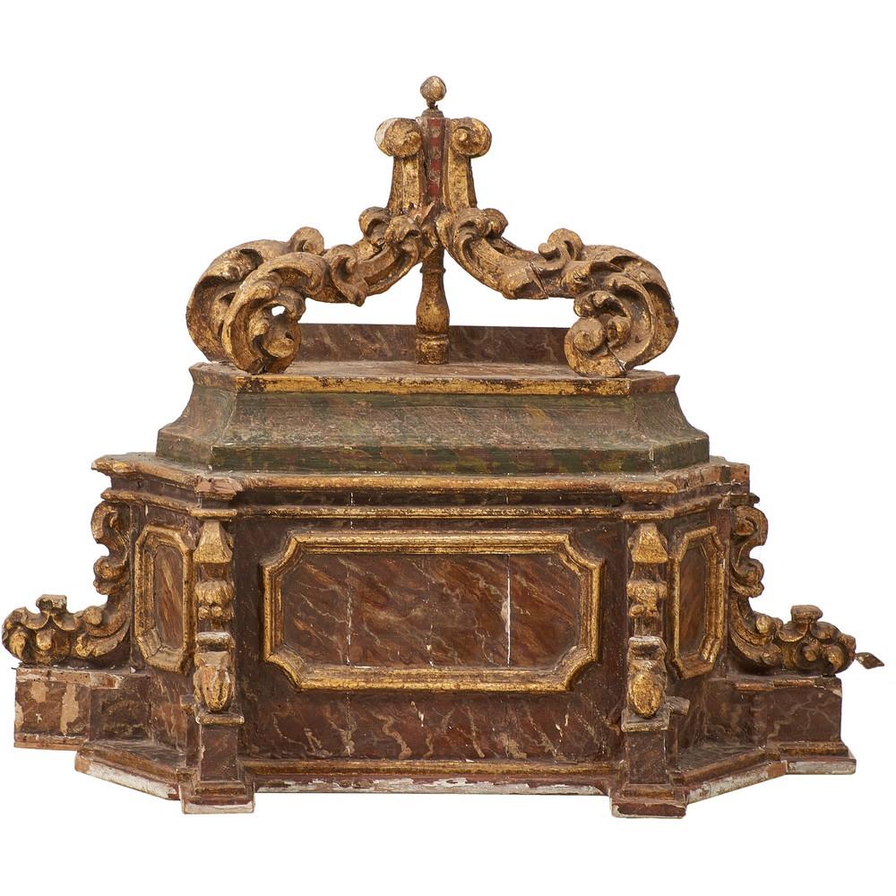 SEI ELEMENTI da Chiesa in legno e vetri - Image 2 of 3
