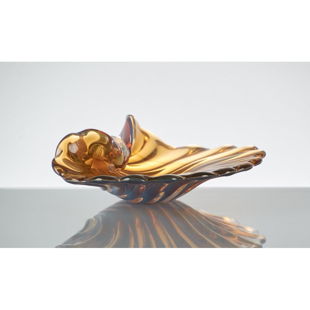 CENEDESE Conchiglia in vetro di Murano