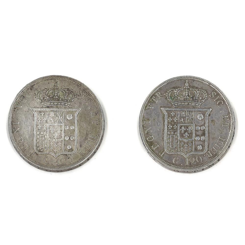 REGNO DUE SICILIE - FERDINANDO II - 1852 Piastra - Image 2 of 2