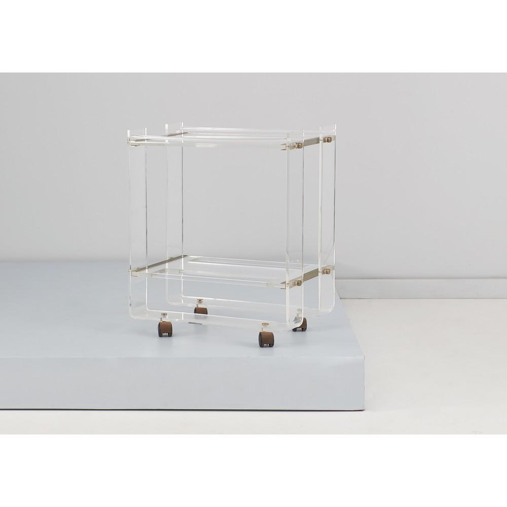 FABBIAN (Attr.le) Carrello in plexiglass