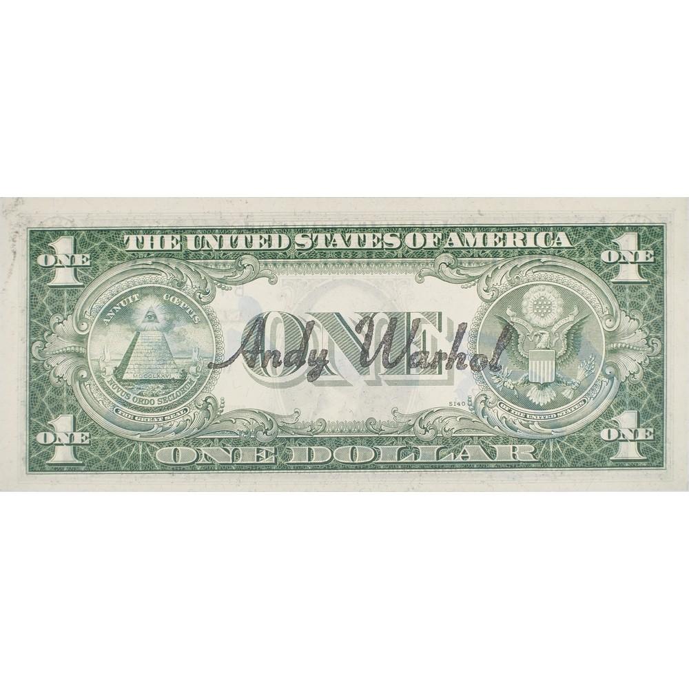 ANDY WARHOL 1 Dollar - Image 2 of 3