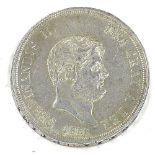 REGNO DUE SICILIE - FERDINANDO II - 1854 Piastra