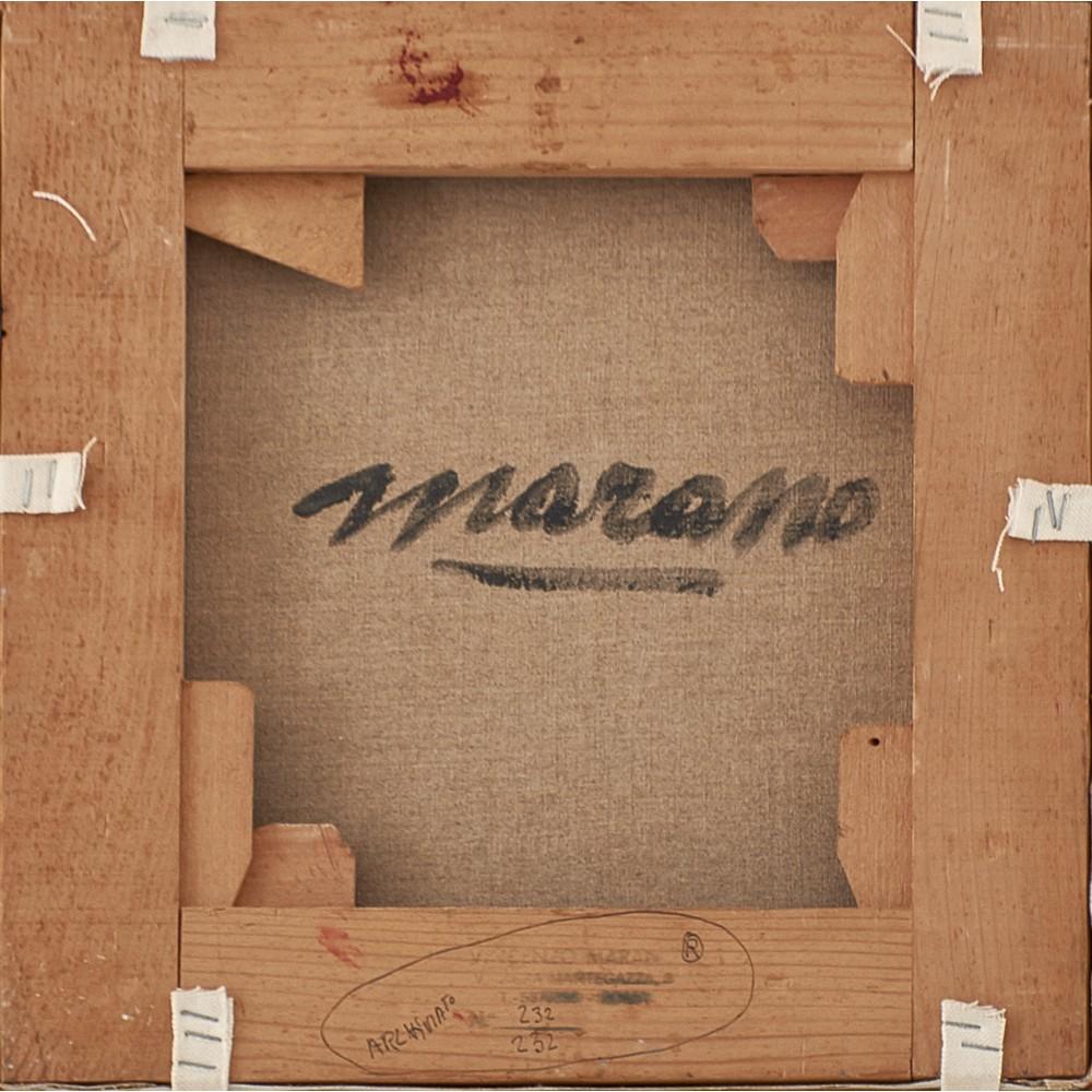 VINCENZO MARANO Olio su tela - Image 2 of 2