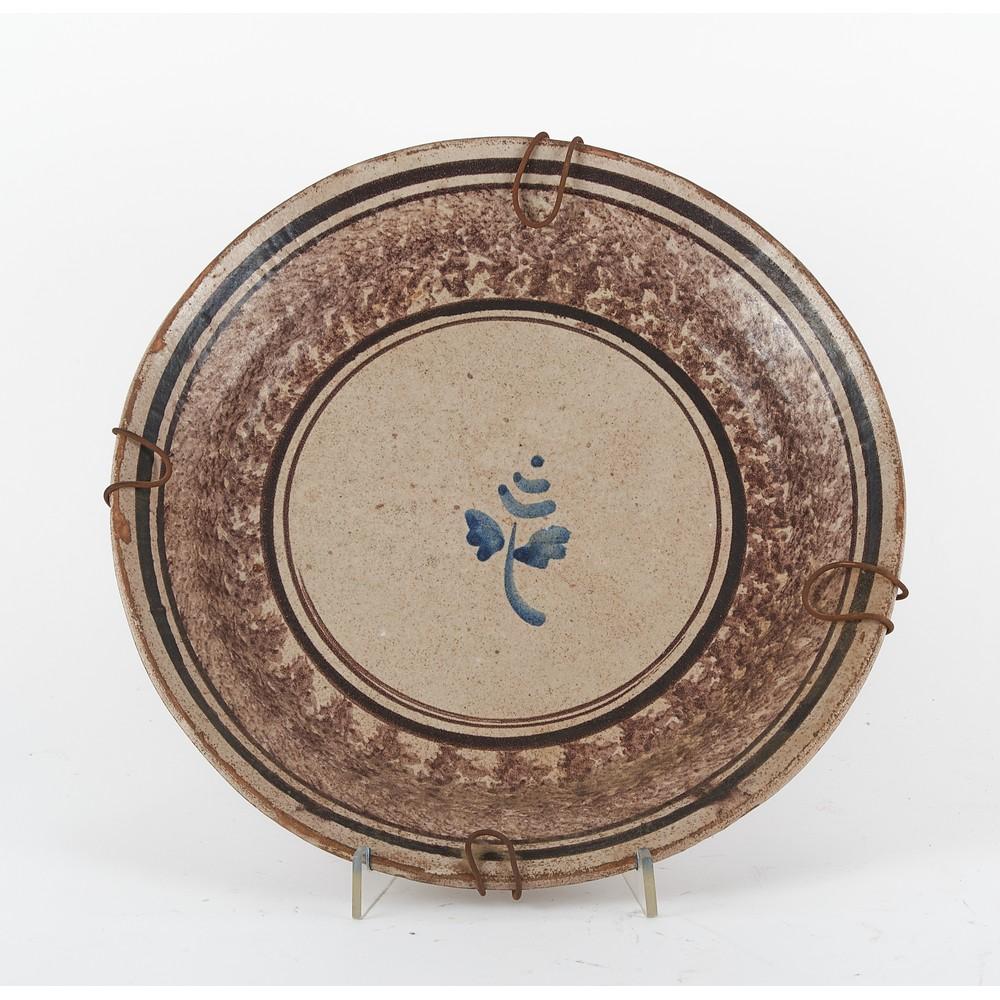 FANGOTTO in ceramica smaltata e decorata