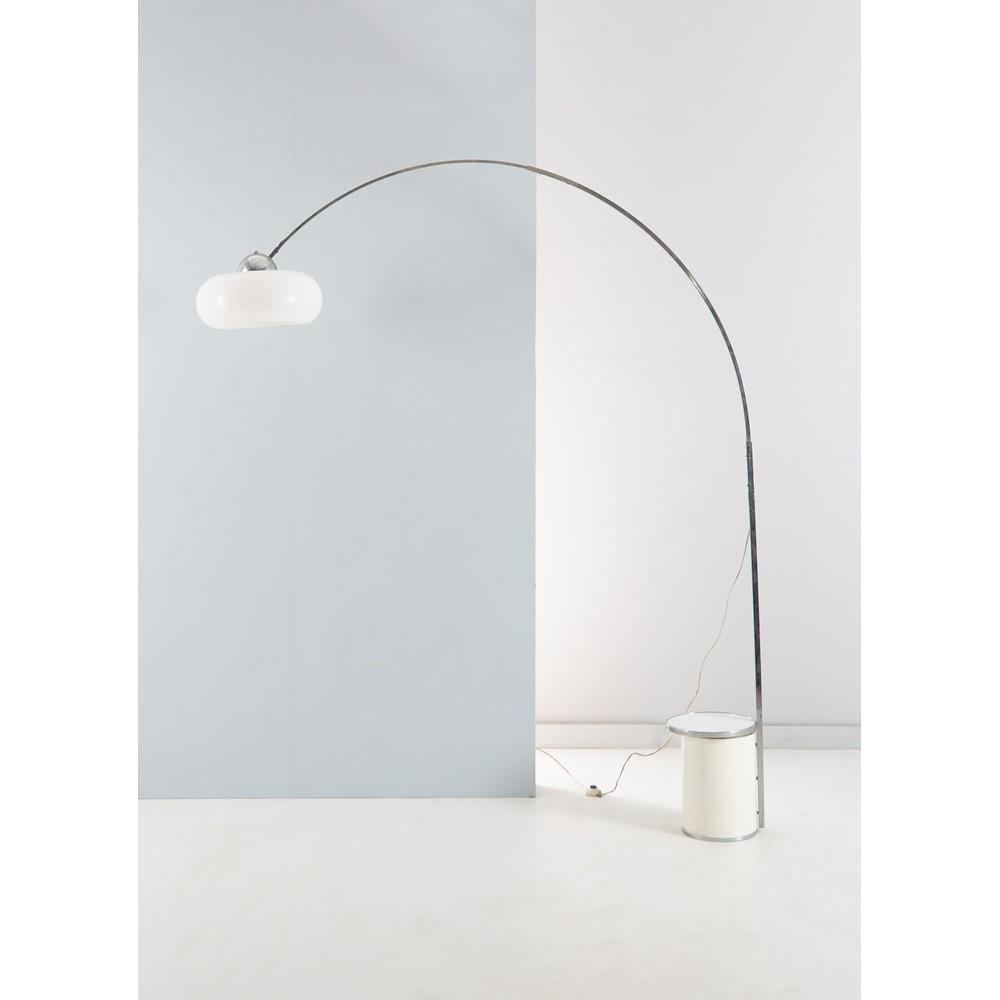 PRODUZIONE ITALIANA ANNI '70 Lampada ad arco