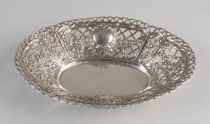 Silver bowl openwork