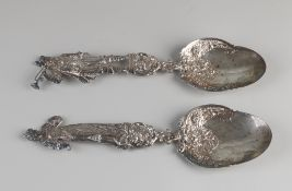 2 Silver flails