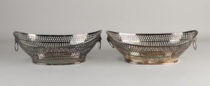 Set silver bread baskets