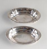2 Silver bowls