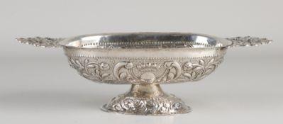 Silver brandy bowl, 18th century