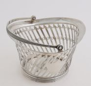 Silver clew basket, 1821